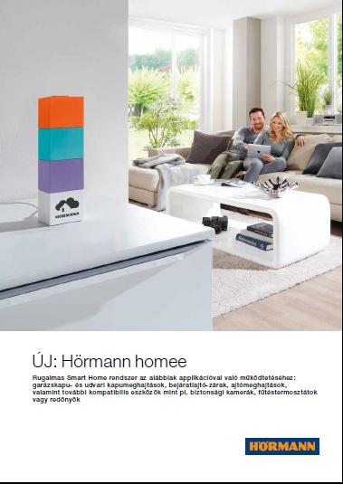 Hörmann homee SmartHome rendszer